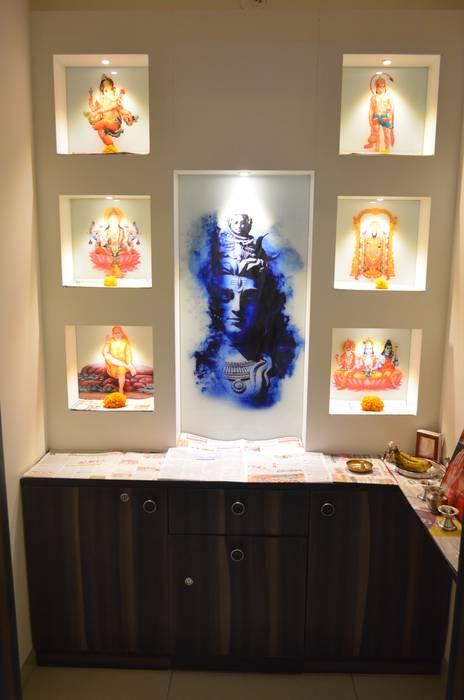 Pooja:  Living room by Vdezin Interiors,Modern