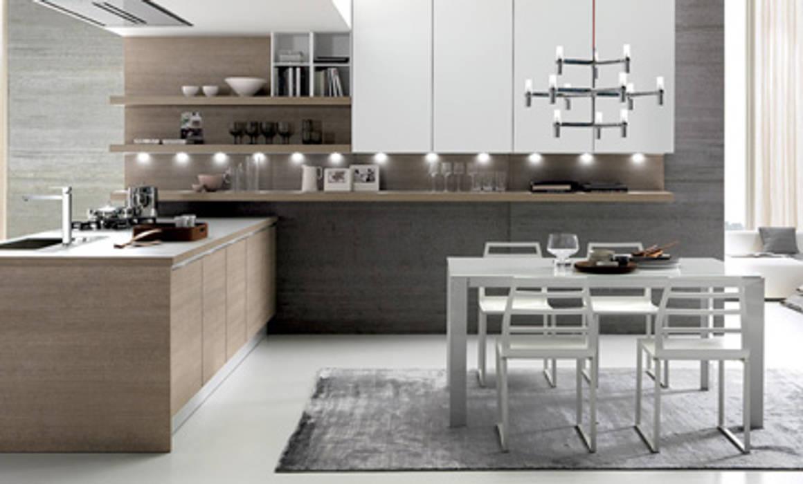 Cucina abitabile: Cucina attrezzata in stile  di Drim Casa