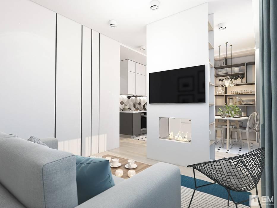 Skandinavische wohnzimmer von gm-interior | homify