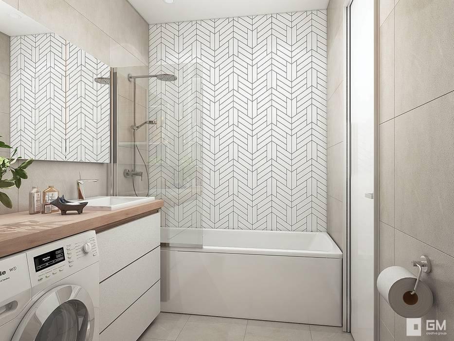 Ванная комната: Ванные комнаты в . Автор – GM-interior