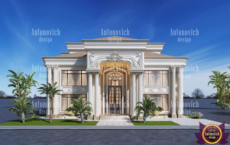 Beautiful Architecture Of Katrina Antonovich Classic Style Houses By Luxury Antonovich Design Classic Homify
