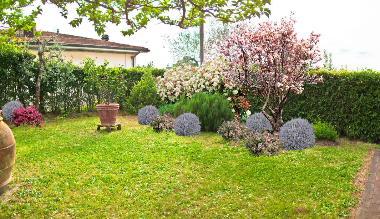 Giardino di campagna casa ec giardino in stile di aplusp