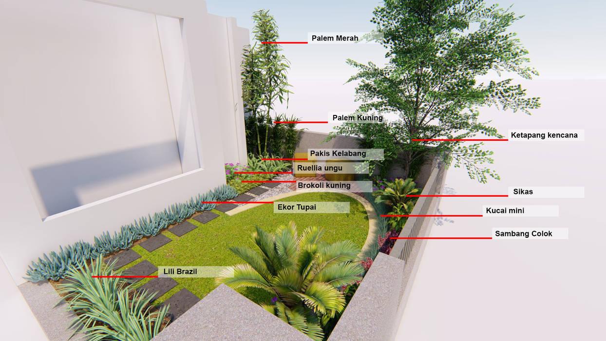 Oleh 1mm studio | Landscape Design Tropis
