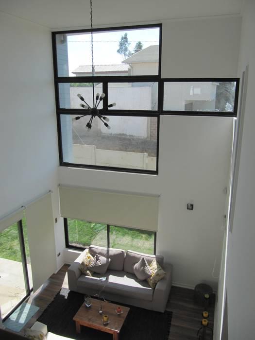 Casa Cruz de Lorena Livings de estilo moderno de Lau Arquitectos Moderno
