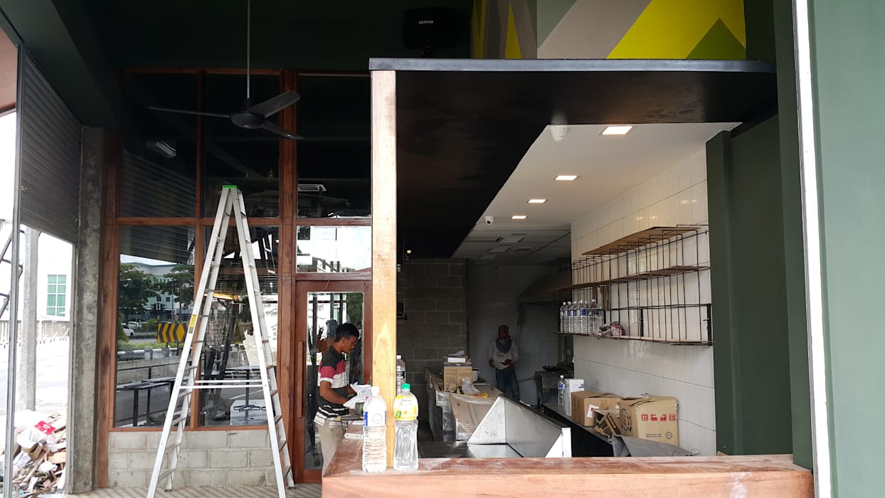 Interiors renovation work: bars & clubs by alto builders sdn bhd