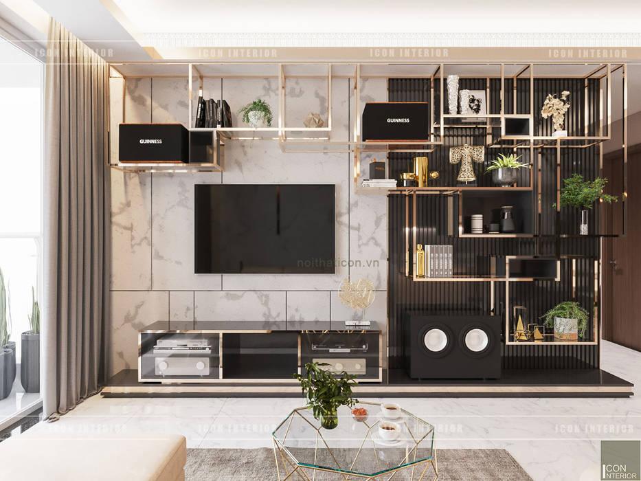 Гостиная в стиле модерн от ICON INTERIOR Модерн