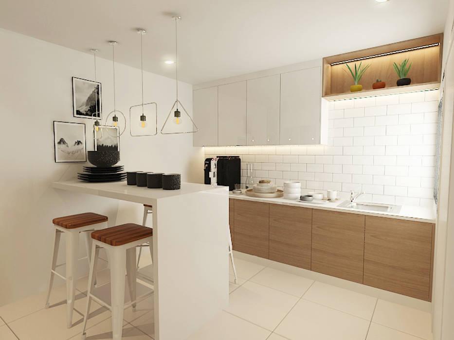 Kitchen Modern style kitchen by Verde Design Lab Modern