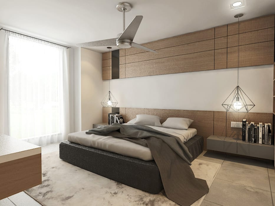 Master Bedroom :  Bedroom by Verde Design Lab