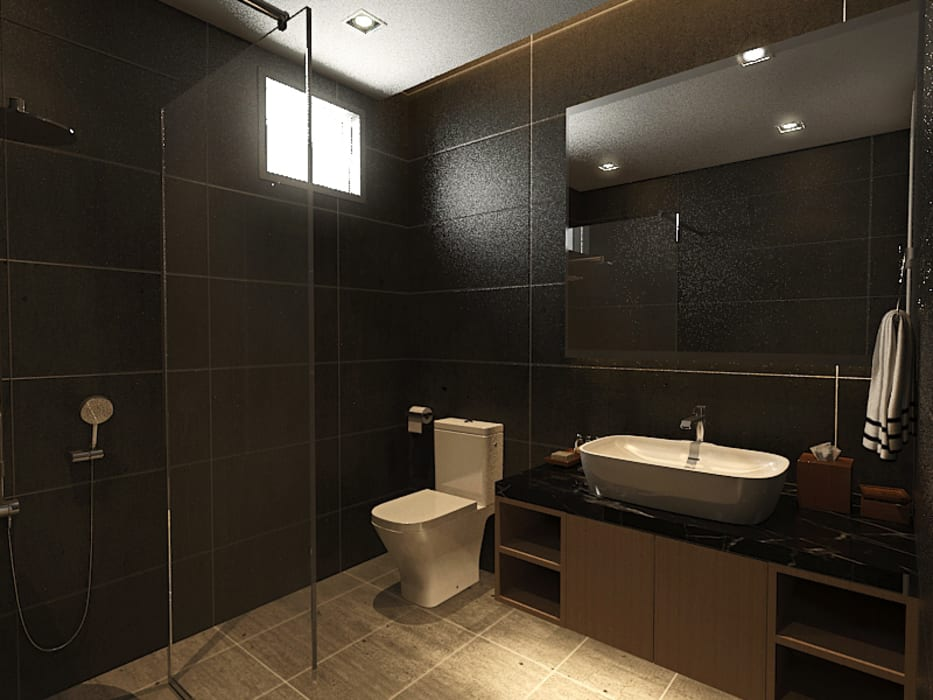 Bathroom :  Bathroom by Verde Design Lab