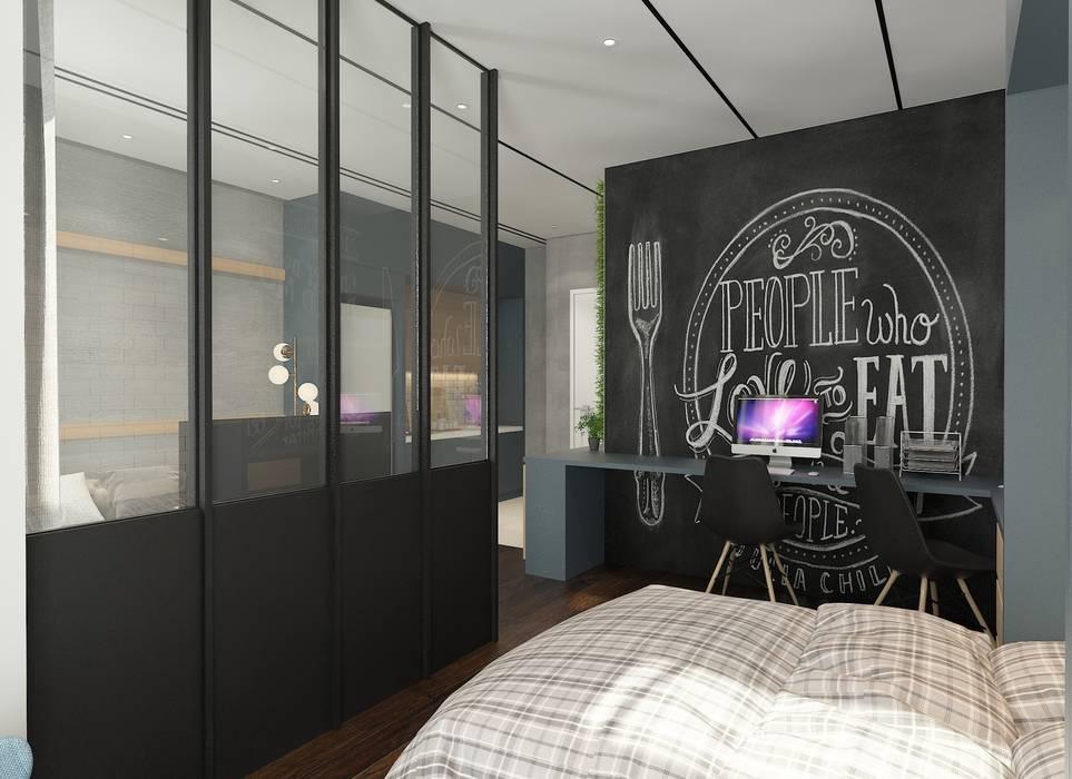 Master Bedroom Rustic style bedroom by Verde Design Lab Rustic