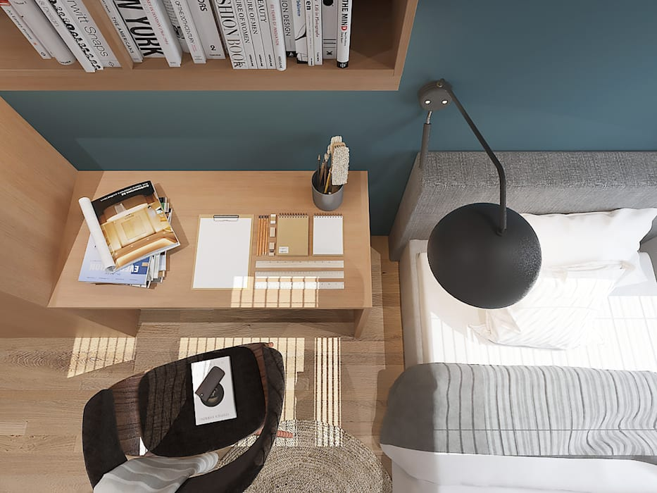 Study/office by Verde Design Lab ,