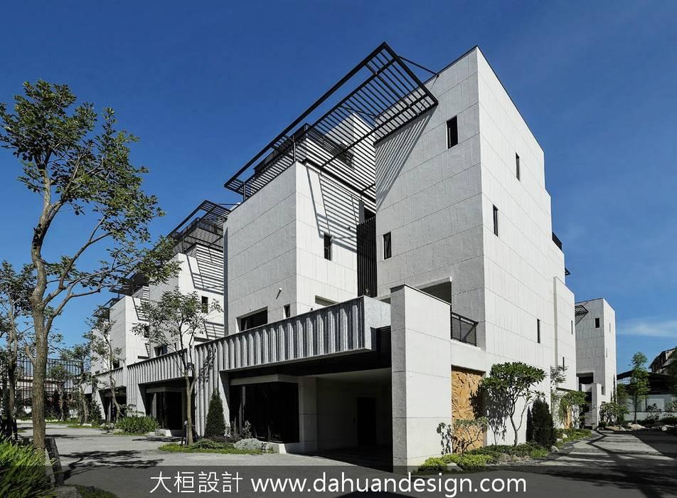 跟著風流動的生態建築方向:  別墅 by 大桓設計顧問有限公司