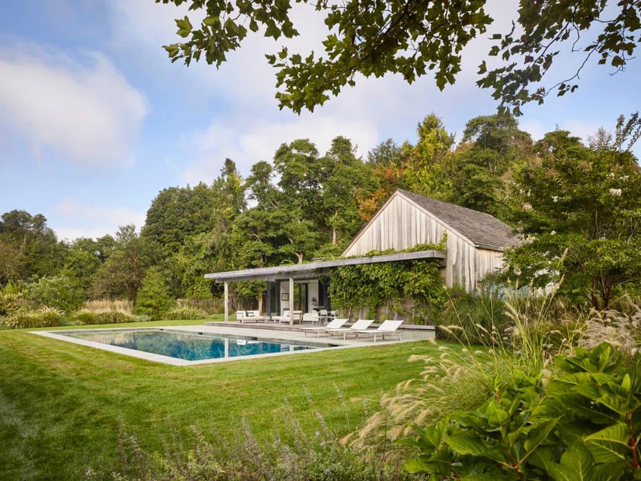 Pool im grüne :  Garten von Ecologic City Garden - Paul Marie Creation