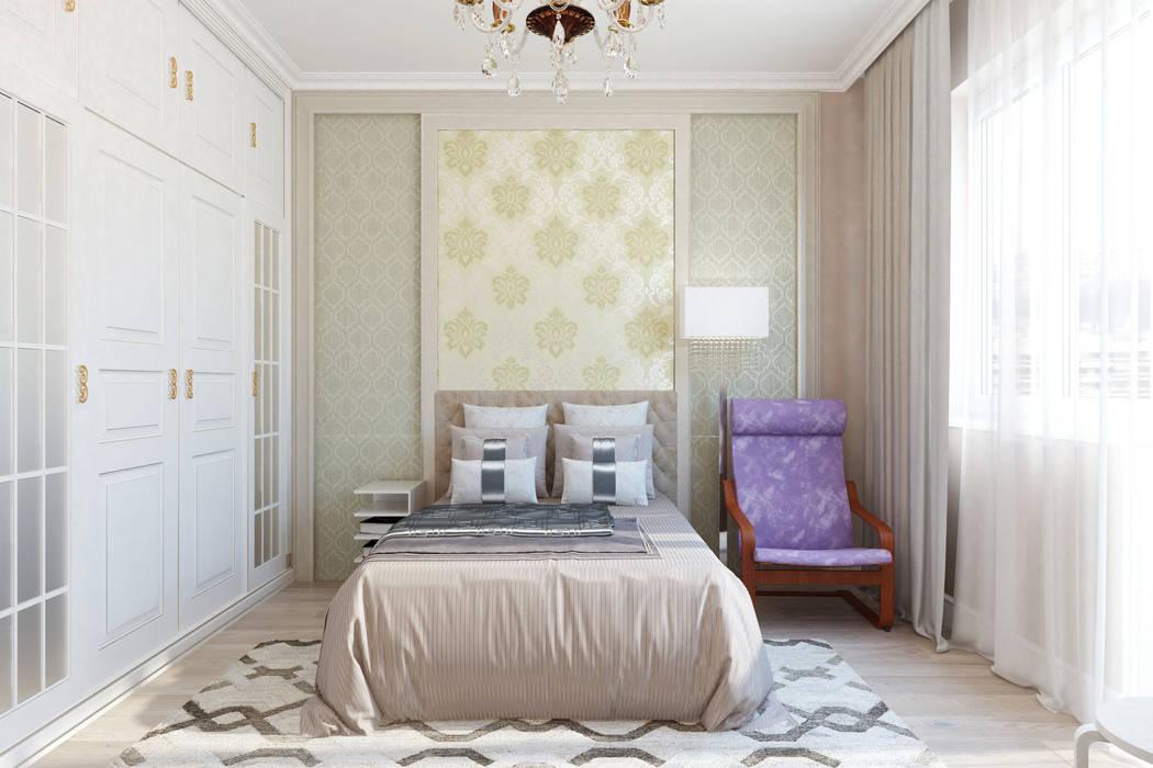 Спальня: Спальни в . Автор – Гузалия Шамсутдинова | KUB STUDIO