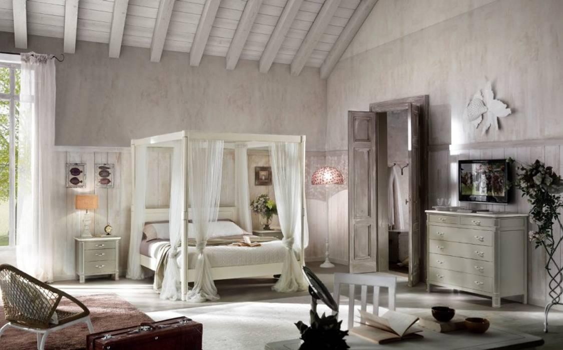 Lo stile shabby in camera da letto: camera da letto in stile di ...
