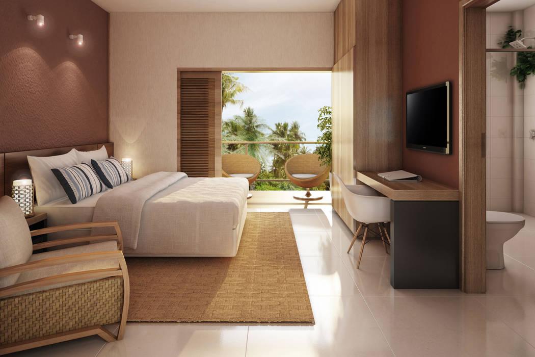 Bedroom by Mutabile, Tropical