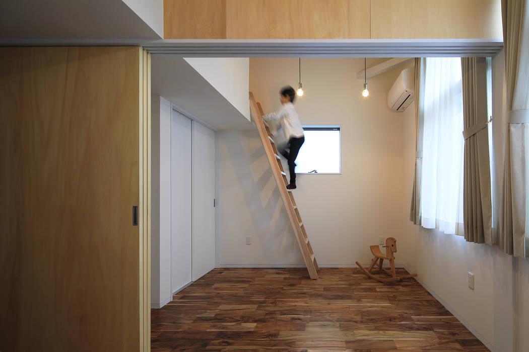 子供部屋 ㈱ライフ建築設計事務所 オリジナルデザインの 子供部屋
