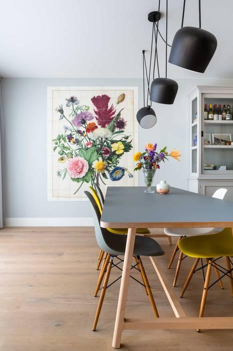 Interieurontwerp door Studio Binnen:  Eetkamer door Studio Binnen