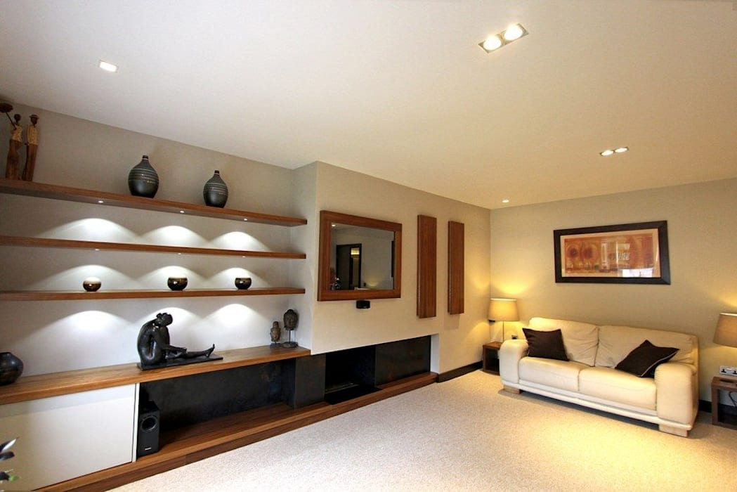 Contemporary New Build, Glossop by Asco Lights Limited Modern