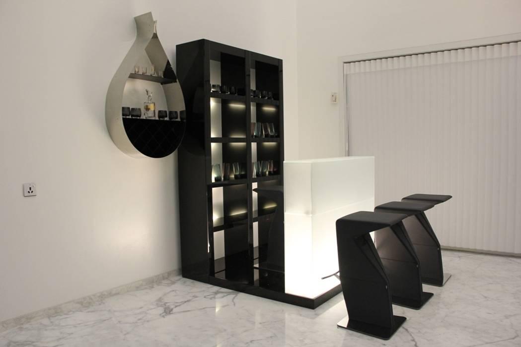 Chugh Villa Innerspace Moderne Wohnzimmer