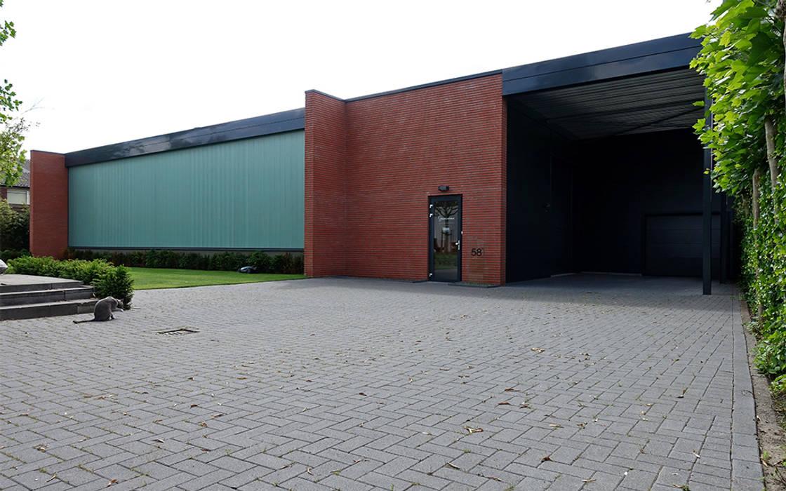 Bedrijfswoning Industriële kantoorgebouwen van [delacourt][vanbeek] Industrieel