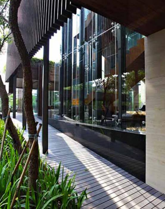 Ornamen-Ornamen Gedung:  Koridor dan lorong by Jati and Teak