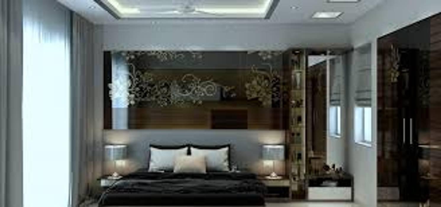 Camera matrimoniale: Camera da letto in stile  di Rossi Design