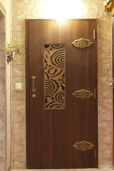Residential Project - NRI Complex, Navi Mumbai Modern style doors by Dezinebox Modern