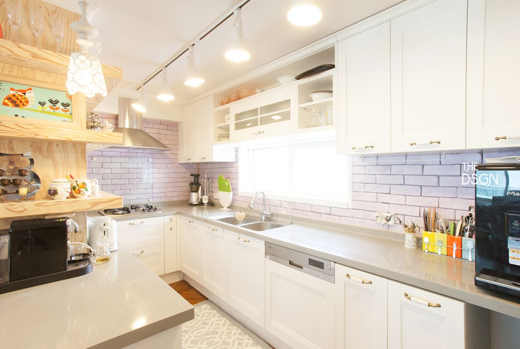 Built-in kitchens by homify, Eclectic