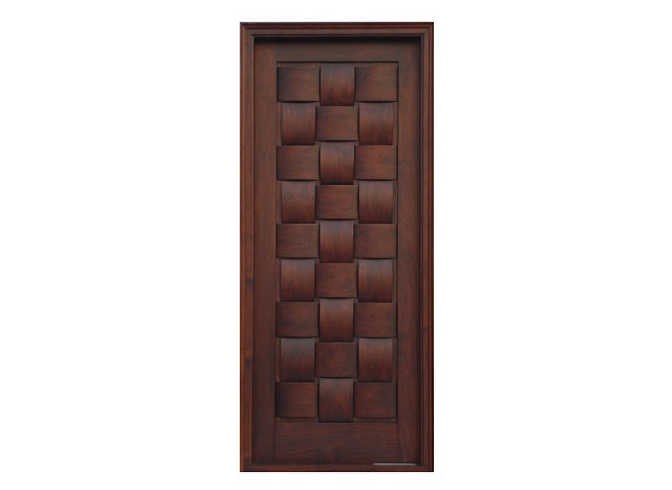 Solid Wood Doors Modern style doors by D P Woodtech Pvt Ltd Modern