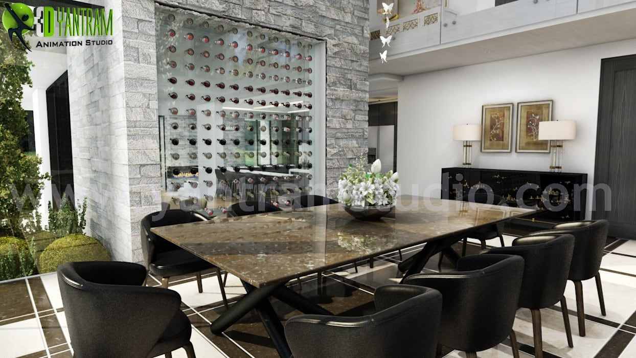 Best Dining Room Decorating Ideas And Pictures By Yantram Architectural Design Studio Modern Dining Room By Yantram Architectural Design Studio Modern Homify