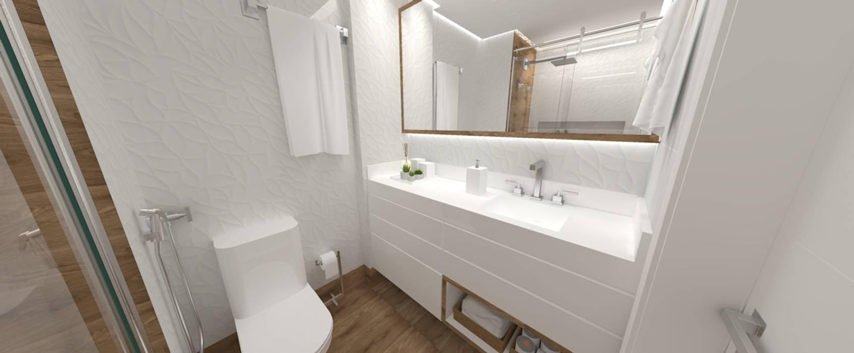 Banheiro: Banheiros  por Studio Elabora