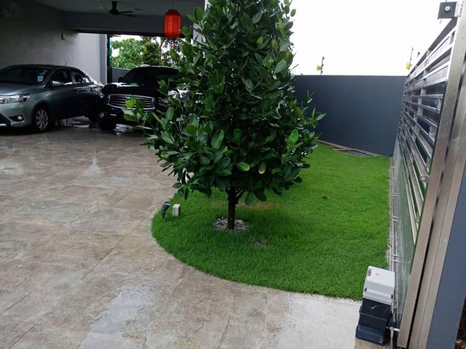 Landscape Design & Build - Bukit Segar, Cheras, Kuala Lumpur by Hadid Design Group Minimalist