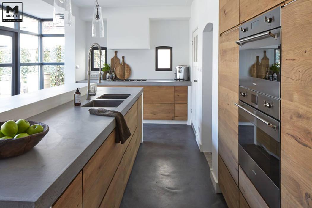 Keuken Werkhoven:  Keuken door Molitli Interieurmakers
