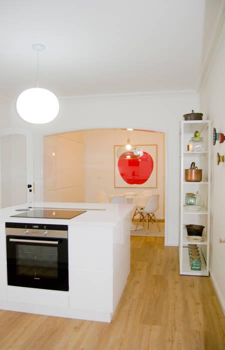 Cozinha tangerinas& p u00eassegos armários de cozinha por tangerinas e p u00eassegos design de  -> Curso De Decoração De Interiores No Porto