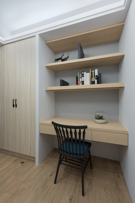 Modern Study Room and Home Office by 寬宸室內設計有限公司 Modern