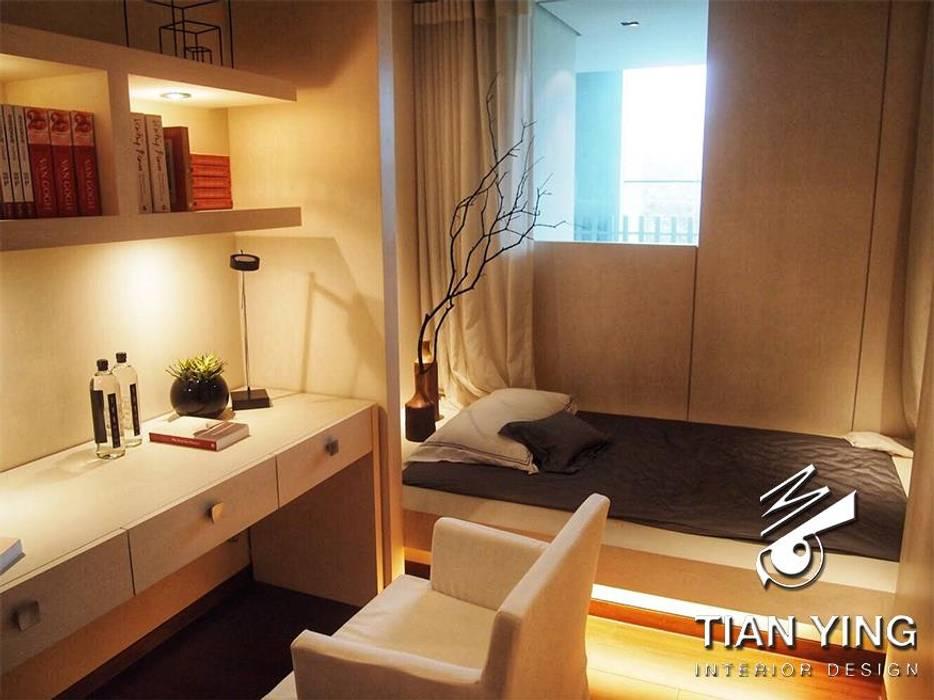 住宅空間設計-公共領域/次書房:  書房/辦公室 by 天英設計工程