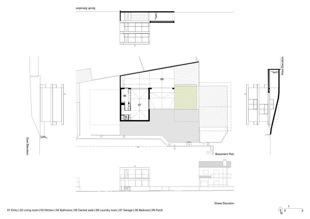 Casa Aguçadoura Casas minimalistas por homify Minimalista