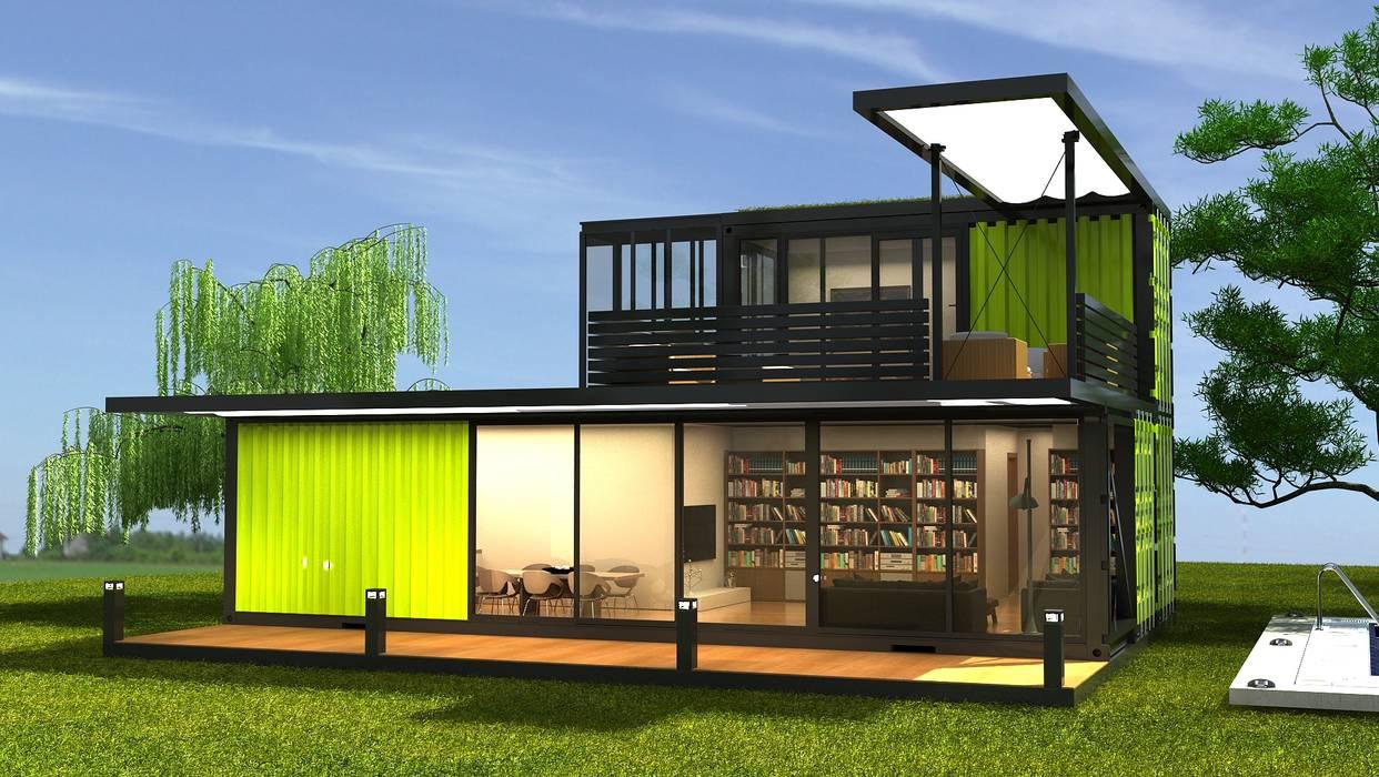 Next Container – Next Container - Modena Style:  tarz Prefabrik ev