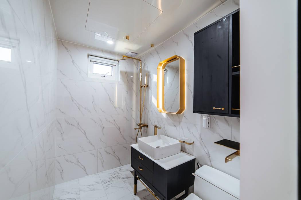 士;dang AAPA건축사사무소 모던스타일 욕실