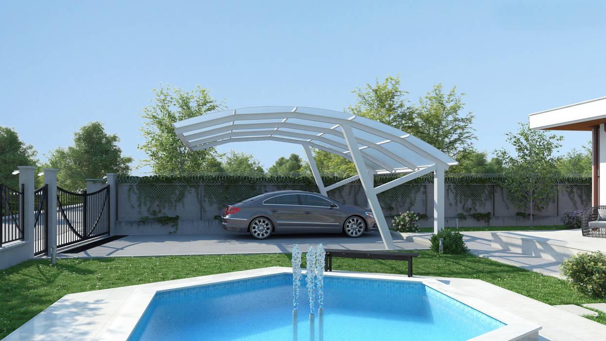 Müstakil Ev Modern Evler Dündar Design - Mimari Görselleştirme Modern