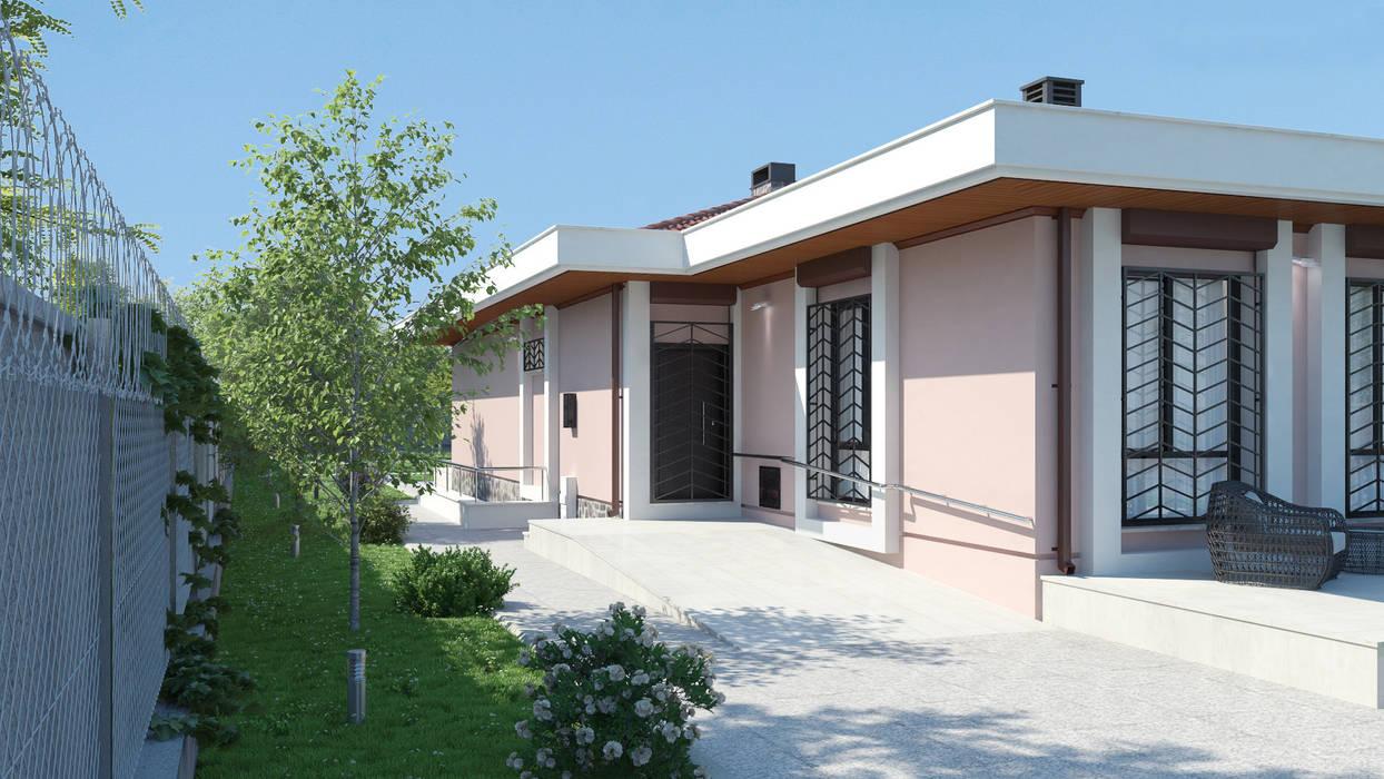 Dündar Design - Mimari Görselleştirme Casas modernas