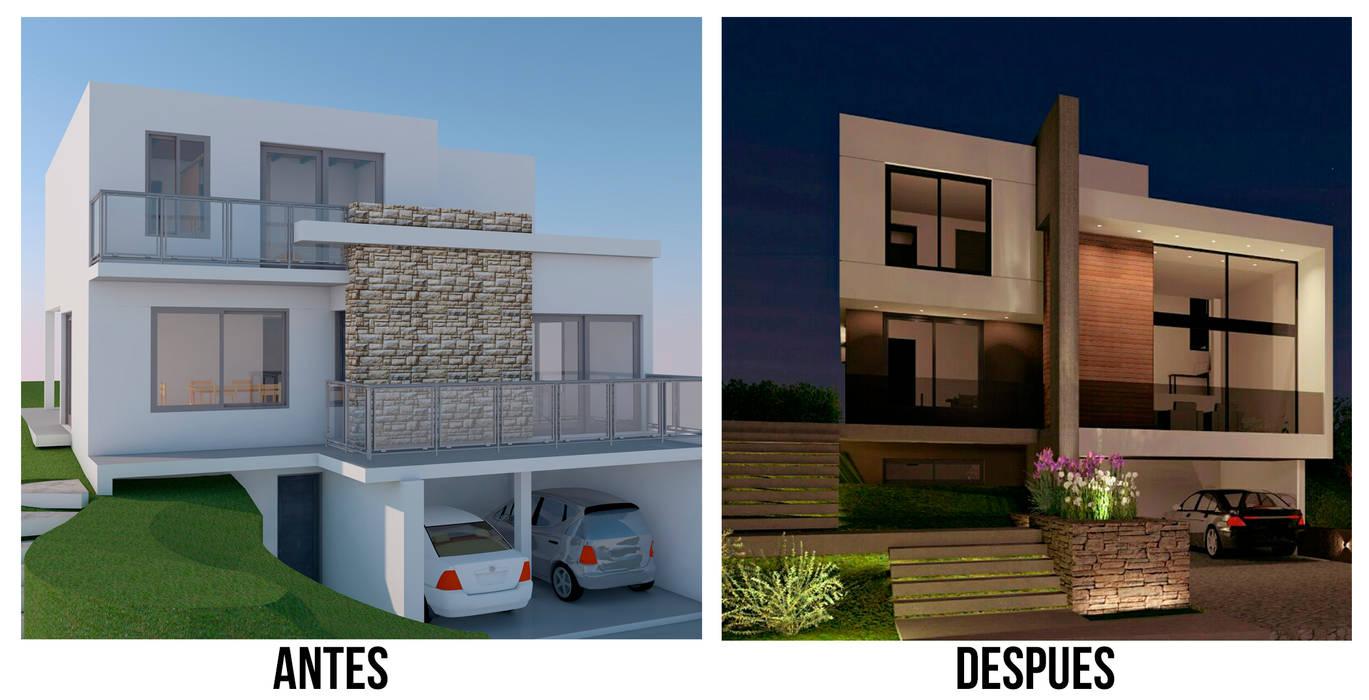 Antes y Despues de BM3 Arquitectura Moderno