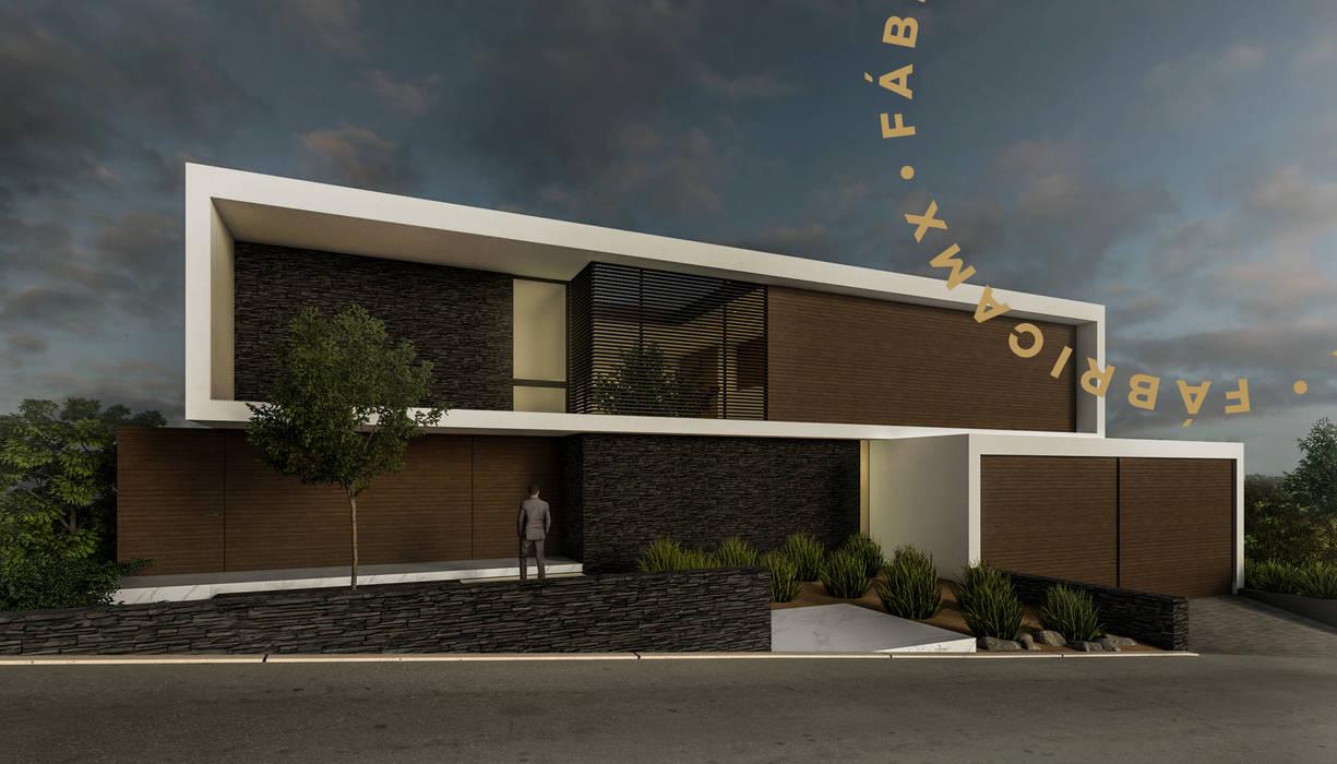 Modern Houses by Fábrica MX Modern