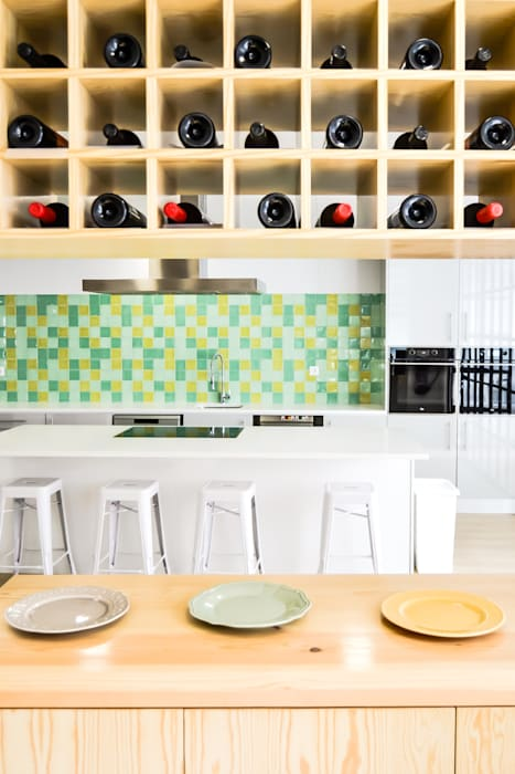 Lisbon Cooking Academy Cozinhas ecléticas por Sónia Cruz - Arquitectura Eclético