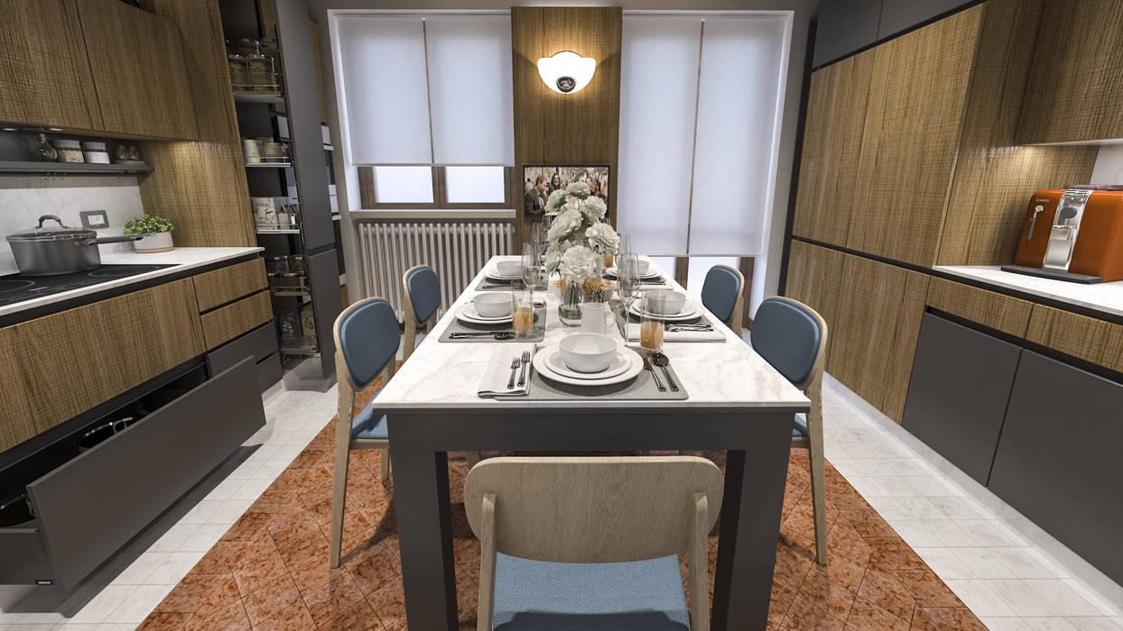 Rifacimento cucina a mantova: cucina attrezzata in stile di ...