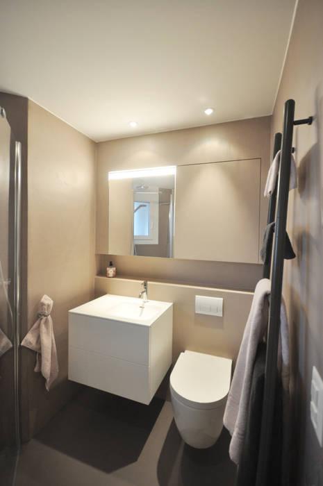 Badezimmerumbau moderne badezimmer von diwohn ...
