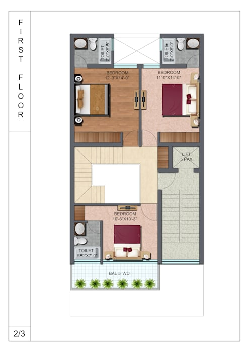 first floor plan:  Floors by EVEN SIGHTS ARCHITECTS,Modern Wood Wood effect