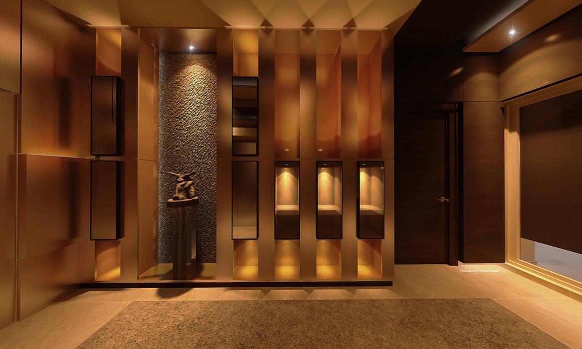 Foyer design:  Corridor & hallway by Norm designhaus, Modern
