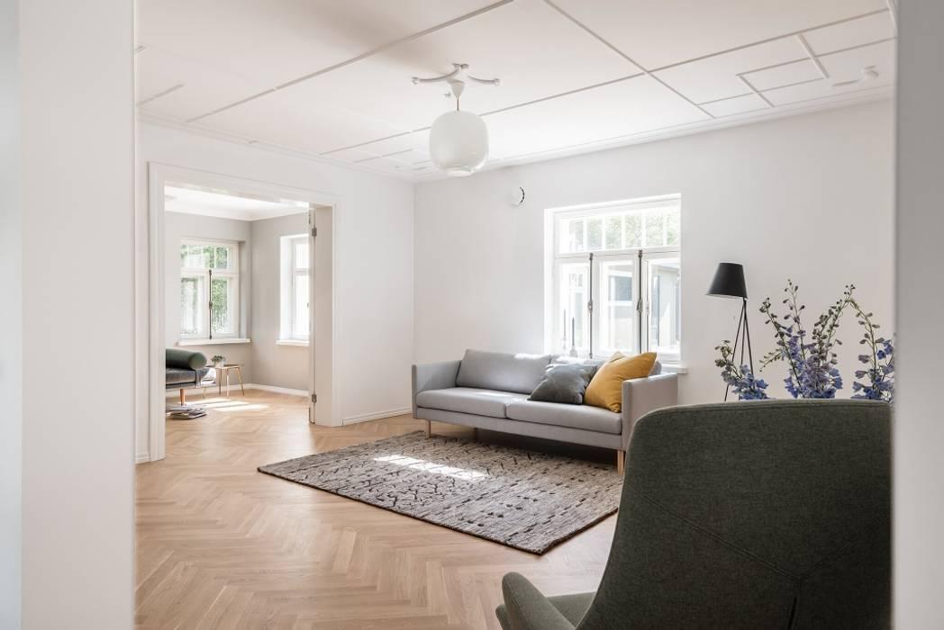 Helles Wohnzimmer Skandinavisch Wohnzimmer Von Baltic Design Shop